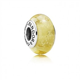 Pandora Jewelry Disney Belle's Signature Color Charm-Murano Glass 791643