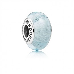 Pandora Jewelry Disney Elsa's Signature Color Charm-Murano Glass 791644