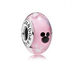 Pandora Jewelry Mickey Mouse Icon Murano Disney Parks Charm 791659