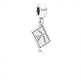 Pandora Jewelry Holiday Greetings Pendant Charm 791711ENMX