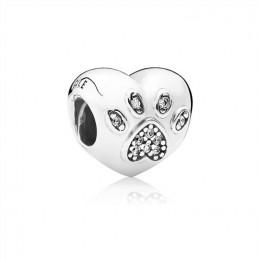 Pandora Jewelry I Love My Pet Charm-Clear CZ 791713CZ