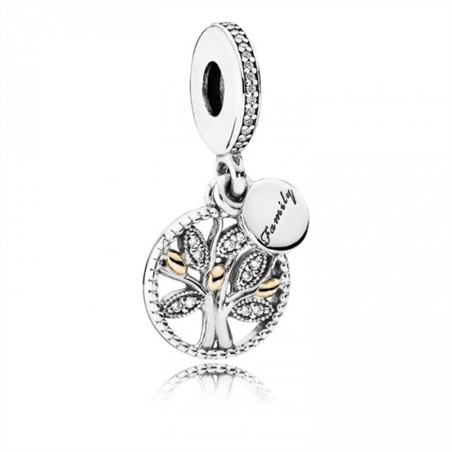 Pandora Jewelry Family Heritage Pendant Charm 791728CZ