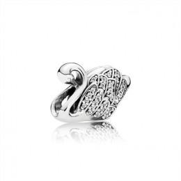 Pandora Jewelry Majestic Swan Charm 791732cz