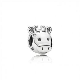 Pandora Jewelry Gorgeous Giraffe Silver Charm 791747