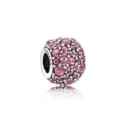 Pandora Jewelry Honeysuckle Pink Shimmering Droplets Charm 791755HCZ