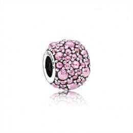 Pandora Jewelry Shimmering Droplets Charm-Pink CZ 791755PCZ