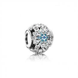 Pandora Jewelry Crystallised Snowflake Charm 791760NBLMX