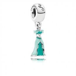 Pandora Jewelry Disney-Jasmine's Dress Dangle Charm-Mixed Enamel 791791ENMX
