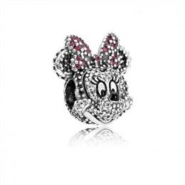 Pandora Jewelry Disney Silver Limited Edition Minnie Charm 791796NCK