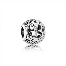Pandora Jewelry Vintage B-Clear CZ 791846CZ