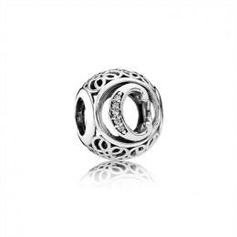 Pandora Jewelry Vintage C-Clear CZ 791847CZ