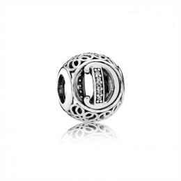 Pandora Jewelry Vintage D-Clear CZ 791848CZ