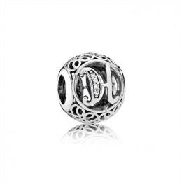 Pandora Jewelry Vintage H-Clear CZ 791852CZ