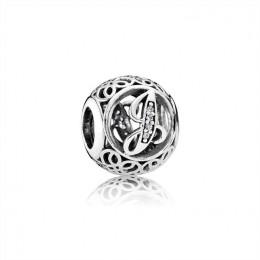 Pandora Jewelry Vintage J-Clear CZ 791854CZ
