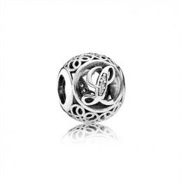 Pandora Jewelry Vintage L-Clear CZ 791856CZ