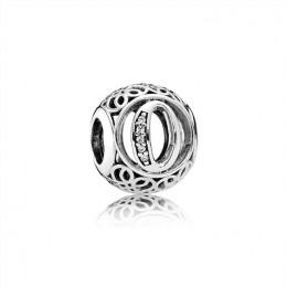 Pandora Jewelry Vintage O-Clear CZ 791859CZ