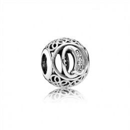 Pandora Jewelry Vintage Q-Clear CZ 791861CZ