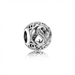 Pandora Jewelry Vintage S-Clear CZ 791863CZ