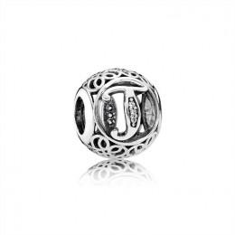 Pandora Jewelry Vintage T-Clear CZ 791864CZ