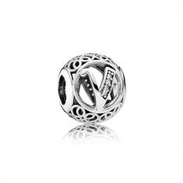 Pandora Jewelry Vintage V-Clear CZ 791866CZ