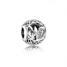 Pandora Jewelry Vintage W-Clear CZ 791867CZ