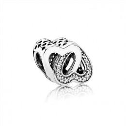 Pandora Jewelry Entwined Love Charm 791880CZ