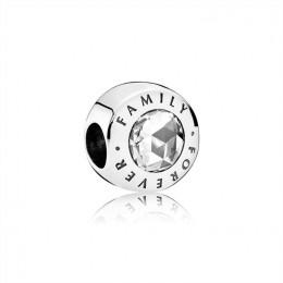 Pandora Jewelry Family Forever-Clear CZ 791884CZ