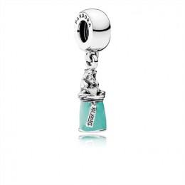 Pandora Jewelry Disney-Alice's Magic Potion Dangle Charm-Mixed Enamel 791897ENMX