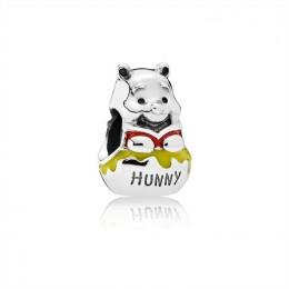 Pandora Jewelry Disney-Honey Pot Pooh Charm-Mixed Enamel 791919ENMX