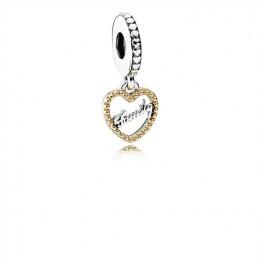 Pandora Jewelry Family Script Dangle Charm 792011
