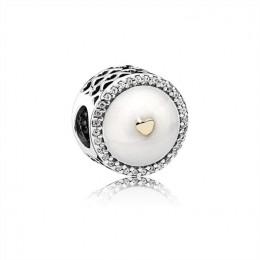 Pandora Jewelry Hearts of Friendship Pendant Charm 792073EN23