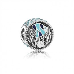Pandora Jewelry Ocean Life Charm-Mixed Enamel & Multi-Colored CZ 792075ENMX