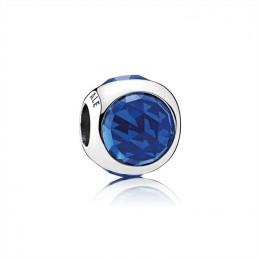 Pandora Jewelry Radiant Droplet Charm-Royal Blue Crystals 792095NCB