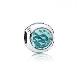 Pandora Jewelry Radiant Droplet Charm-Icy Green Crystals 792095NIC