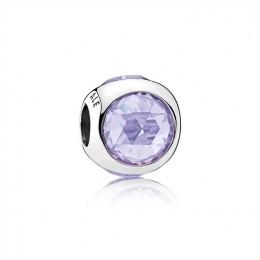 Pandora Jewelry Radiant Droplet Charm-Lavender CZ 792095lcz