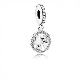Pandora Jewelry Hearts of Love Hanging Charm 792104CZ