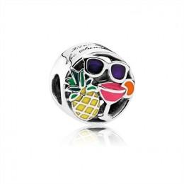 Pandora Jewelry Summer Fun Charm-Mixed Enamel 792118ENMX