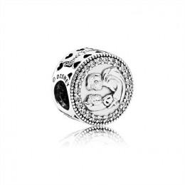 Pandora Jewelry Disney-Snow White 80th Anniversary Charm-Clear CZ 792142CZ
