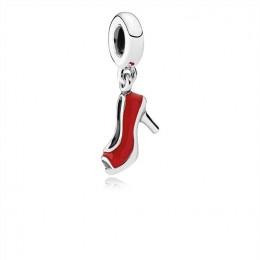 Pandora Jewelry Red Stiletto Dangle Charm-Red Enamel 792154EN09