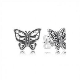 Pandora Jewelry Jewelry Butterfly Stud Earrings 290547