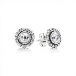 Pandora Jewelry Brilliant Legacy Stud Earrings-Clear CZ 290553CZ
