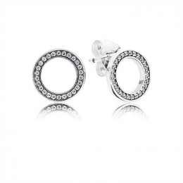 Pandora Jewelry Forever Pandora Jewelry Stud Earrings 290585CZ