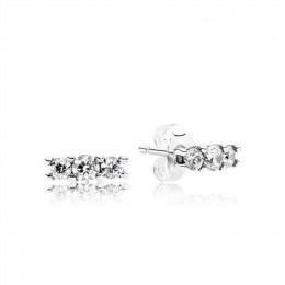 Pandora Jewelry Sparkling Elegance Stud Earrings 290725CZ