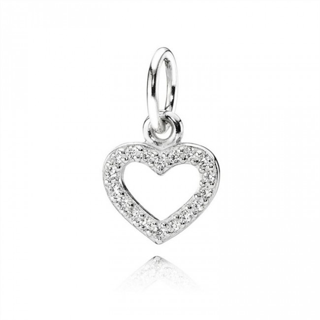 Pandora Jewelry Be My Valentine Pendant-Clear CZ 390325cz