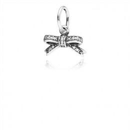 Pandora Jewelry Sparkling Bow Pendant-Clear CZ 390357CZ