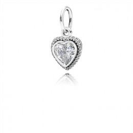 Pandora Jewelry Sparkling Love Pendant-Clear CZ 390366CZ