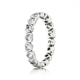 Pandora Jewelry Forever More Stackable Ring-Clear CZ 190897CZ
