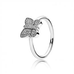 Pandora Jewelry Sparkling Butterfly Ring-Clear CZ 190938CZ