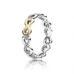 Pandora Jewelry Infinite Love Stackable Ring-Clear CZ 190948CZ