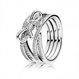 Pandora Jewelry Delicate Sentiments Ring-Clear CZ 190995CZ